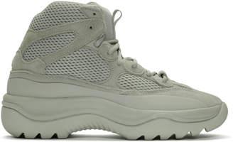 Yeezy Grey Desert Boot Sneakers