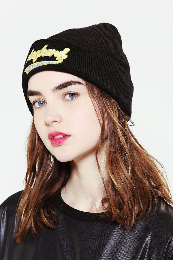 Urban Outfitters Ragged Priest Play Hard Beanie