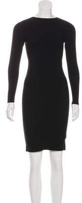 Helmut Lang Knit Mini Dress