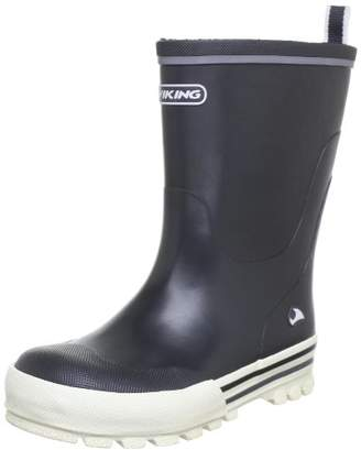 Viking JOLLY Rubber Boots Unisex-Child Gray Size: 29