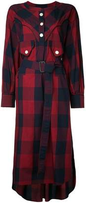 Miharayasuhiro buffalo checkered dress