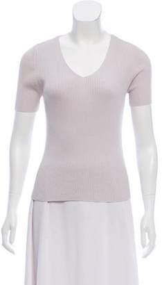 Burberry Silk Rib Knit Sweater w/ Tags