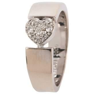Piaget Silver White gold Ring