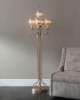 John-Richard Collection Marquise Crystal Floor Lamp
