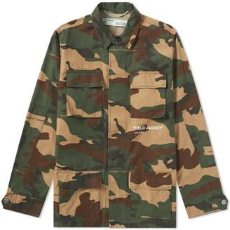 Off-White Off White Camo Field Jacket