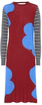 Marni Virgin wool sweater dress