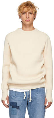 Remi Relief Off-White Wool Sweater