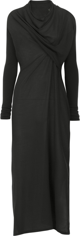 Rick Owens Twist front dress