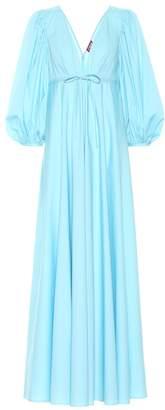 STAUD Amaretti stretch-cotton maxi dress