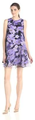 Cynthia Rowley Women's Oversized Print Dress,0