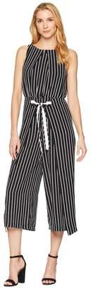 Sangria Stripe Jumpsuit Women's Jumpsuit & Rompers One Piece