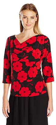 Lark & Ro Women's Poppy Blouse
