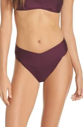 Ted Baker London High Waisted Wrap Bikini Bottom