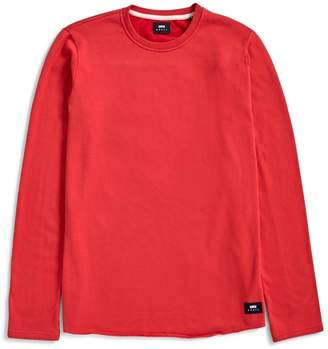 Edwin Cotton Terry T-Shirt Red
