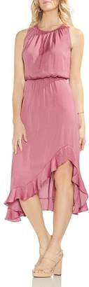 Vince Camuto Sleeveless Ruffle-Hem Dress