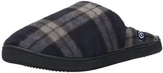 Isotoner Men's Fleece Clog Thinsulate Flat