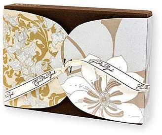Ceci New York Precious Metal Boxed Note Card Set