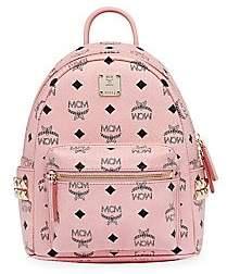 MCM Women's Mini Stark Visetos Side Stud Backpack