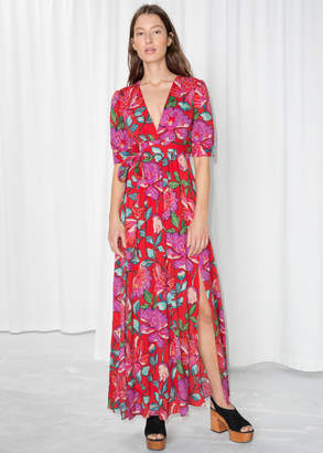 And other stories Floral Printed Dress