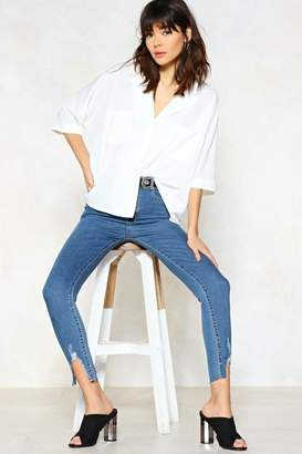 Nasty Gal End of Story Skinny Jeans