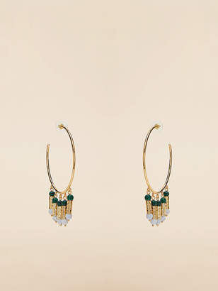 Diane von Furstenberg Multi-Charm Earrings