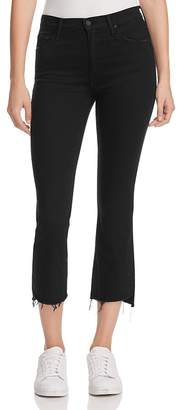 MOTHER Insider Crop Step Fray Jeans in Not Guilty $205 thestylecure.com