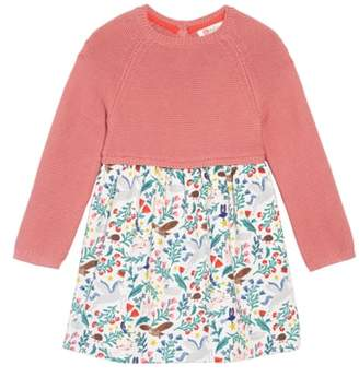 Boden Mini Peculiar Pets Knit Dress