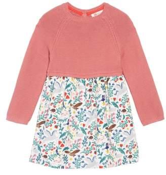 Boden Mini Peculiar Pets Knit Dress