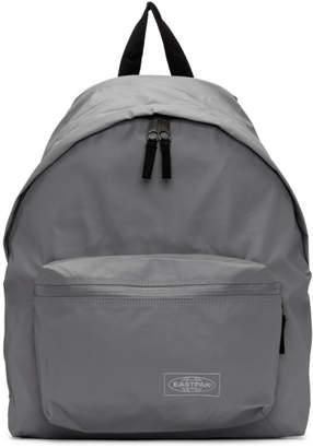 Eastpak Grey Topped Padded Pakr Backpack