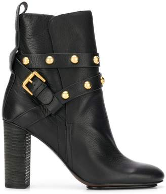 See by Chloe Janis heeled ankle boots
