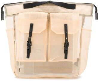 Ally Capellino Frank sheer backpack