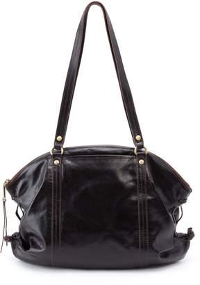 Hobo Flourish Leather Shoulder Bag