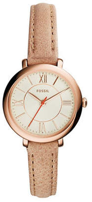 Fossil Womens Analog Jacqueline Watch ES3802