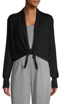 Donna Karan Self-Tie Cardigan