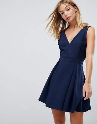 BCBGeneration Lace Mix Dress