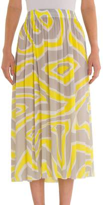 Emilio Pucci Women's Long Jersey Skirt