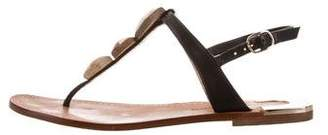 Diane von Furstenberg Ankle Strap Thong Sandals