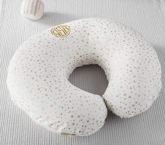 Pottery Barn Kids Ivory Metallic Star Boppy® Nursing & Infant Support Pillow & Slipcover