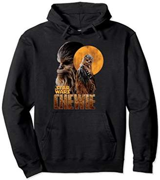 Star Wars Han Solo Movie Chewie Introduction Graphic Hoodie
