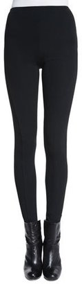 Ralph Lauren Collection Leland High-Waist Skinny Pants, Black $550 thestylecure.com