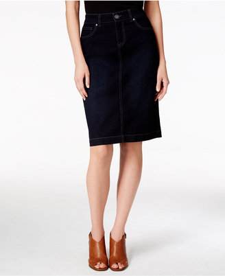 Style & Co Denim Skirt, Only at Macy's $49.50 thestylecure.com