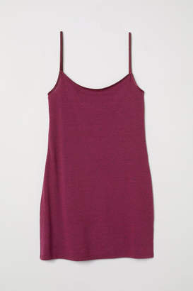 H&M Long Jersey Camisole Top - Pink