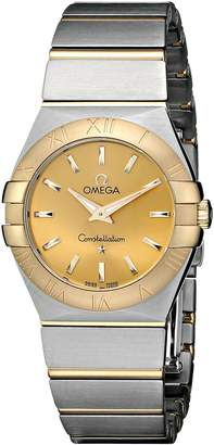 Omega Women's 123.20.27.60.08.001 Dial Constellation Dial Watch