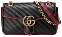 Gucci GG Marmont 2.0 Small Shoulder Bag - Golden Hardware