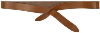 Isabel Marant Brown Lecce Wrap Belt $120 thestylecure.com