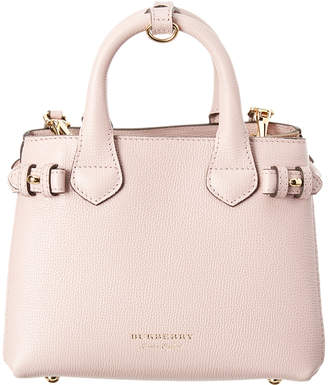 Burberry Baby Banner House Check Canvas & Leather Tote