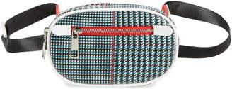 LIKE DREAMS Houndstooth Belt Bag