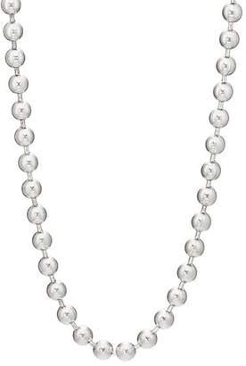 GOOD ART HLYWD Men's Ball-Chain Necklace - Silver