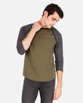 Express Heat Seal Baseball Tee