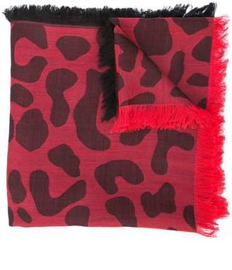 Carolina Herrera animal-print scarf